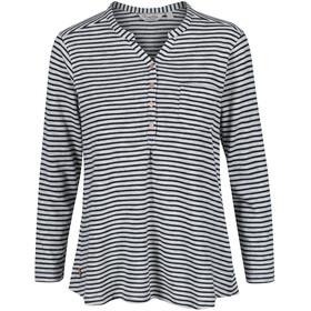 Regatta Franzea - T-shirt manches longues Femme - bleu/blanc